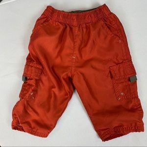 4/$20 GAP Baby Boys Cargo Pants 6-12 M